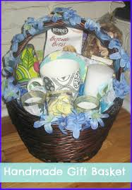 how to make a handmade diy simple gift basket how to ship a gift
