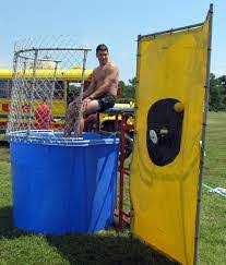 dunk booth rental dunk tank rental pro entertainment nashville the party