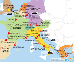 Monaco France Map by European Discoverer Summer 2017 By Trafalgar Bookmundi Com