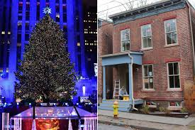 last year s rockefeller center tree lives on as upstate home new