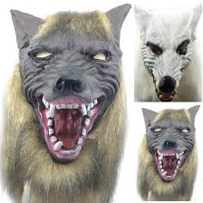Wolf Mask Scary Wolf Mask Promotion Shop For Promotional Scary Wolf Mask On