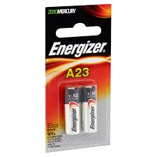 energizer keyless entry 12 v batteries a23 2 pack walmart com