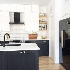 Kitchen Design With Black Appliances Modern Kitchen Black And White Kitchen Kitchen Design Black