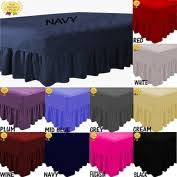 Fitted Valance Sheet Navy Valance King Bed Homeware Buy Online From Fishpond Co Nz