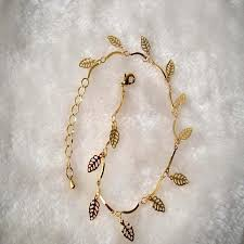 simple gold bracelet jewelry images 2018 anklets foot jewelry gold silver plated summer style trendy jpg