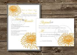 Sunflower Wedding Invitations Sunflower Wedding Invitations Templates Diy Sunflower Wedding