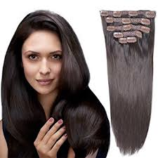 remy human hair extensions 18 clip in remy human hair extensions brown 2