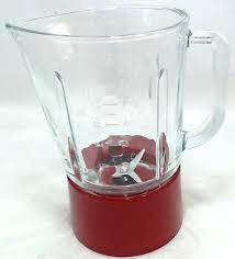 Kitchenaid Blender by W10279533 Kitchenaid Blender Glass Jar Assembly Red