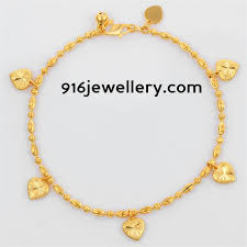 gold bracelet chain designs images Gold bracelets for women designs sudhakar gold works jpg