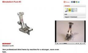 Blind Hem Presser Foot Sew A Blind Hem With Blindstitch Foot 5 Weallsew
