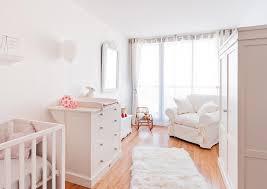 deco chambre bebe fille baby room all white chambre de bébé entièrement blanche bedroom