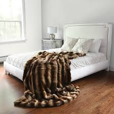 Faux Fur Bed Throw Throw Blanket Faux Fur Blanket Canada