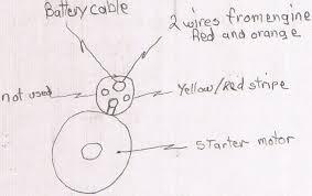 mercruiser 4 3 starter wiring diagram wiring diagram