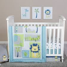 teal crib bedding set trend lab jungle roar 4 piece crib bedding set twiggs designs