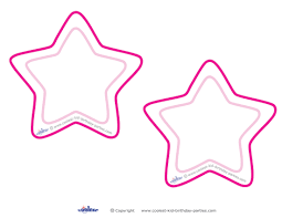 9 images blank star template printable blank star
