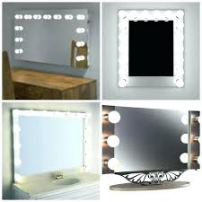 wall mounted hardwired lighted makeup mirror lighted makeup mirror wall mounted hardwired lights mirrored vanity