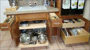 kitchen kitchen organiser roll out shelves sliding storage