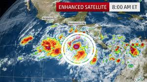 Mexico Hurricane Map by 2017 Pacific Hurricane Season Could Be Seeing An Early Start