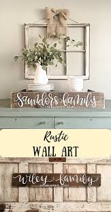 home decor styles name perfect for my gallery wall last name sign rustic home decor