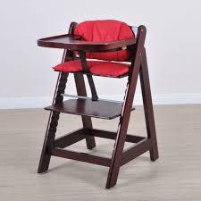 chaise enfant bois multifonctionnel bébé enfant bois massif salle à manger chaise bébé