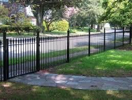 Backyard Fence Styles by Best 25 Wrought Iron Fences Ideas On Pinterest Iron Fences