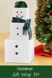 mommy blog expert diy holiday gift wrap ideas snowman fun u0026 easy