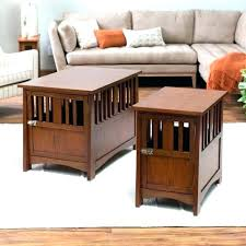 end table dog bed diy pet crate end table dog kennel end tables wooden dog crate wooden
