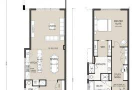 narrow lot house plans with rear garage narrow lot house plans level 1 homepeek