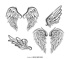 wings vector u0026 graphics to download