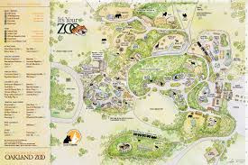 Oregon Zoo Map by Zoos Oakland