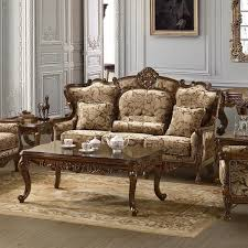 Hd  Hd  Homey Design Upholstery Living Room Set Victorian - Traditional sofa designs