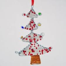 african maasai bead with wire christmas tree ornament africans