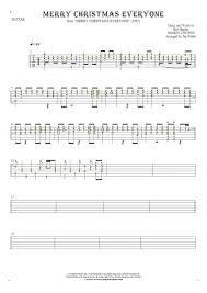 merry everyone tablature rhythm values for guitar