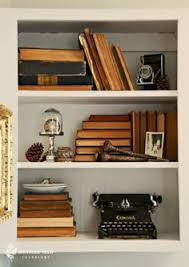 how to decorate shelves kristen is so talented at crafts and