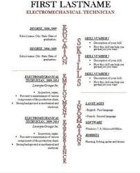 Resume Templates Open Office Resume Template Open Office Template Design