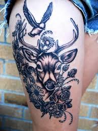48 deer tattoos ideas for women