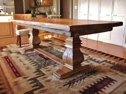 large wood dining room table of good large rustic furniture wood
