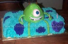 monsters inc birthday cake coolest inc cakes on the web s largest birthday