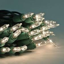 details about 20 green mini lights white wire