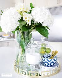 floral centerpieces for kitchen tables decorating with fresh and faux florals beautiful kitchen ikat and