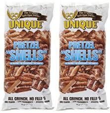 unique pretzel shells where to buy unique pretzel shells pack of two 10 oz bags