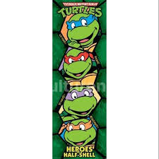 buy teenage mutant ninja turtles retro poster print 36 12