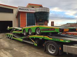 semi trailer truck new ozsan trailer truck carrier ozs tc car transporter semi