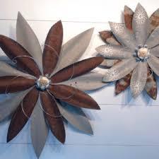 metal flowers metal flowers