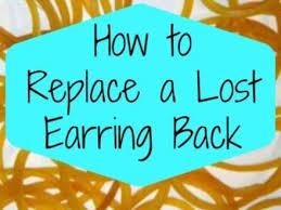 lost earring back 50 lost earring one lost earring 039 s lost earrings