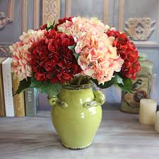 hydrangea wedding wedding hold flowers decoration wine autumn vintage