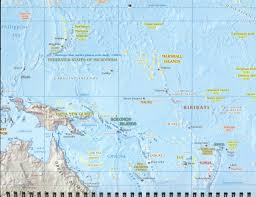 Guadalcanal Map 2005 Kwajalein Calendar Map