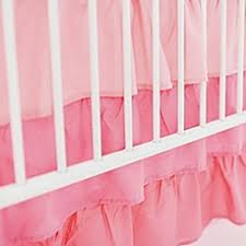 Bed Skirt For Crib Crib Skirts White Pink Crib Bed Skirts Buybuy Baby