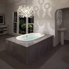 Oval Bathtub Oval Bathtub Acrylic Whirlpool Chromotherapy Mio 6636
