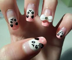 nail art ideas 20 pics of awesome panda and penguin manicures